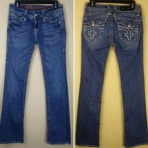Rock Revival Patti Boot Cut Jeans Stretch